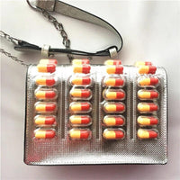 Pill Blister Packet Mini Crossbody Bag - The Urban Doll