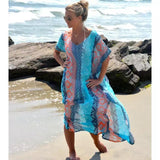 beachwear cover ups plus size