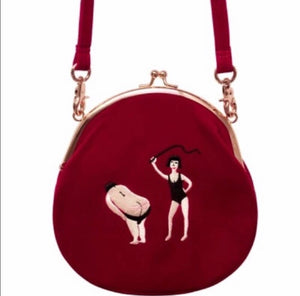 Whipped Red Velvet Mini Bag - The Urban Doll