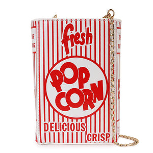 Popcorn Novelty Purse - The Urban Doll