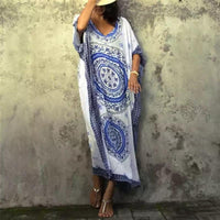 Vintage Medallion Beach Kaftan
