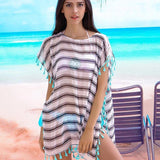 boho beach cover up