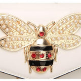 Queen Bee Jeweled Mini Crossbody Bag (4 Colors) - The Urban Doll