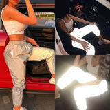 Flash Reflective Joggers - The Urban Doll