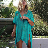 Boho Crochet Swimsuit Cover Up (12 Colors) - The Urban Doll