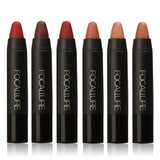 FOCALLURE Waterproof Matte Lip Crayon Kit - The Urban Doll