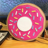 Frosted Donut Purse - The Urban Doll