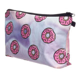 Donuts Holographic Makeup Bag - The Urban Doll