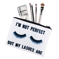 I'm Not Perfect Makeup Bag - The Urban Doll
