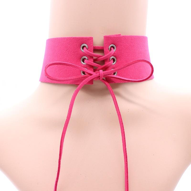 Sexy Lace Up Choker - The Urban Doll