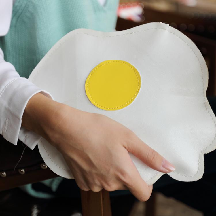 Fried Egg Crossbody Bag - The Urban Doll