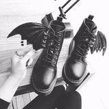 Gargoyle Winged Boots - The Urban Doll