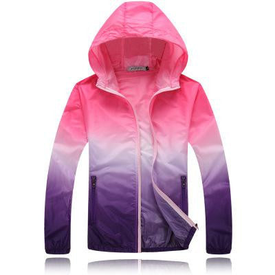 Ombre Windbreaker - The Urban Doll