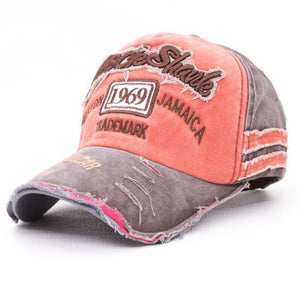 Rock Shark Kingston 1969 Jamaica Distressed Vintage Hat - The Urban Doll