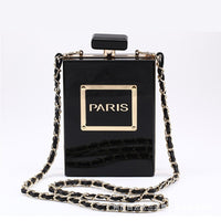 Perfume Bottle Clutch (3 Colors) - The Urban Doll