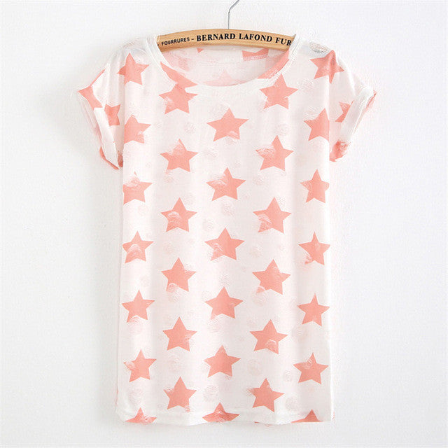 Faded Star T-Shirt - The Urban Doll