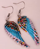 Angel Wings Dangle Earrings (12 Colors) - The Urban Doll