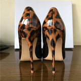 Ombre Leopard High Heels (2 Colors) - The Urban Doll