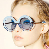 Round Hollywood Pool Sunglasses (6 Colors) - The Urban Doll