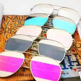 Stripe Aviator Sunglasses - The Urban Doll