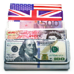 World of Currency Clutch Wallet - The Urban Doll