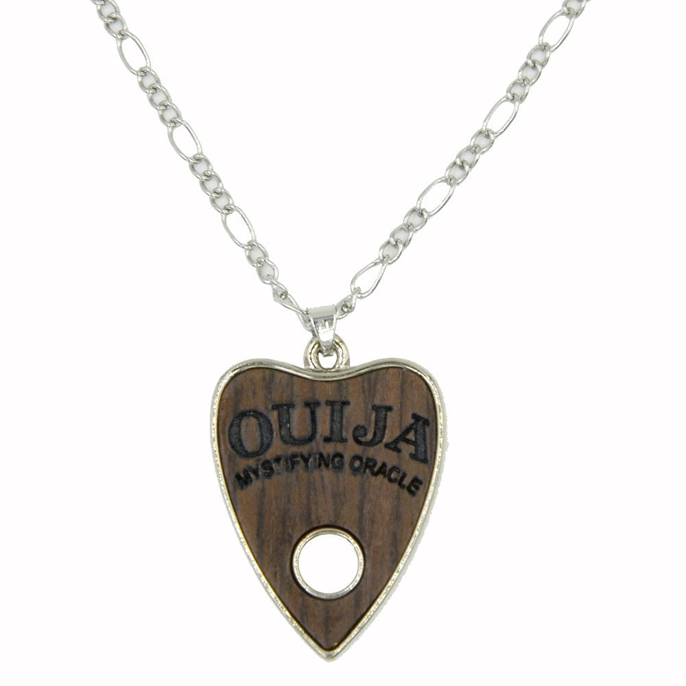 Wooden Ouija Planchette Necklace - The Urban Doll
