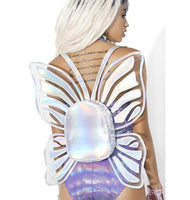 Holographic Butterfly Backpack at The Urban Doll