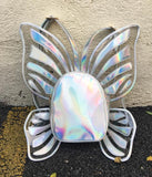 Holographic Butterfly Backpack - The Urban Doll