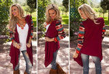 Aztec Casual Cardigan - The Urban Doll