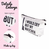 My Mascara Is Designer Makeup Bag - The Urban Doll