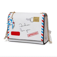 Air Mail Letter Purse - The Urban Doll