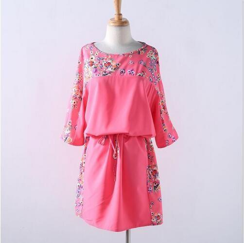Floral Womens Casual Summer Dress
