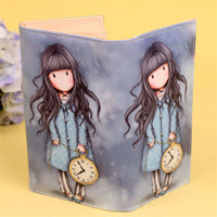 Girl Time Illustrated Wallet - The Urban Doll