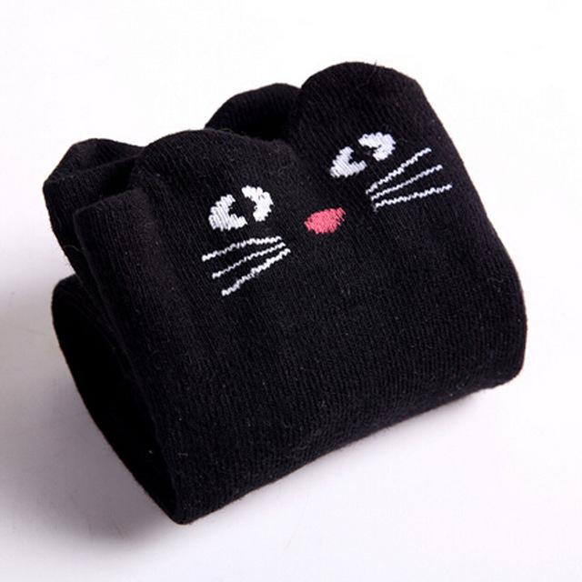 Over The Knee Cat Socks - The Urban Doll