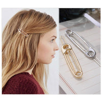 Safety Pin Barrette Set - The Urban Doll