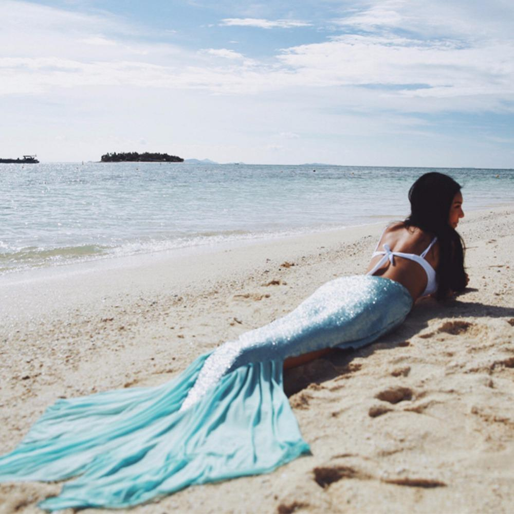 Mermaid Tail Cover Up Sarong - The Urban Doll