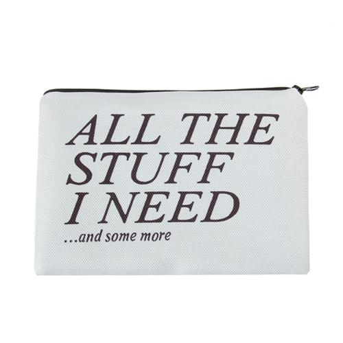 All The Stuff I Need Makeup Bag - The Urban Doll