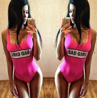 Bad Girl One Piece Swimsuit - The Urban Doll