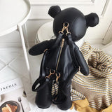 Skeleton Bear Oversized Backpack - The Urban Doll