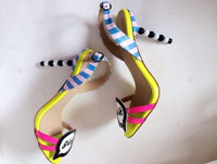 Girl Talk High Heel Sandals - The Urban Doll