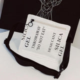 Silica Gel Packet Mini Crossbody Bag - The Urban Doll