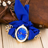 Chiffon Wrist Wrap Quartz Watch Bracelet (7 Colors) - The Urban Doll