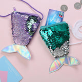 Sequin Mermaid Tail Coin Crossbody Bag (6 Colors)