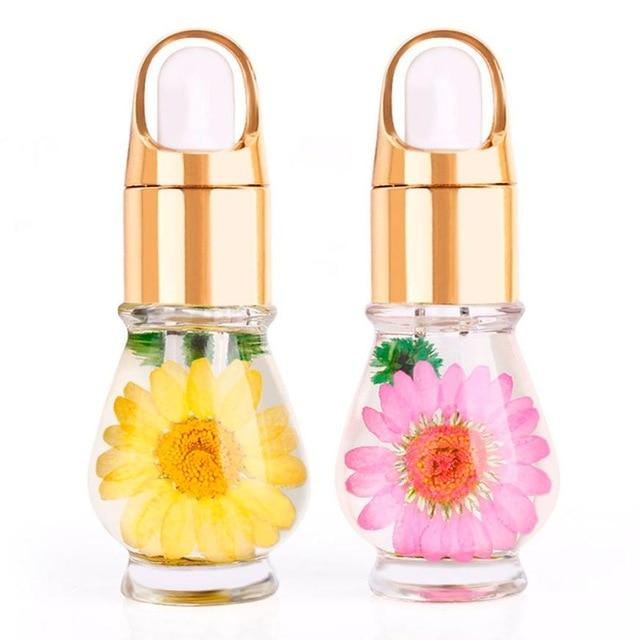 Manicure Cuticle Oil with Dried Flowers - The Urban Doll