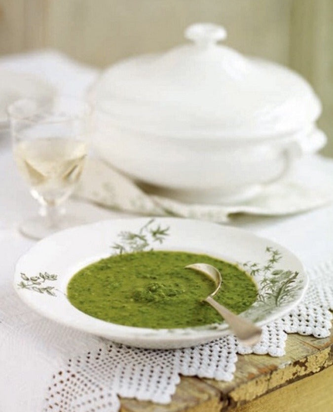 Regency Recipes: The Soups of Austen - Pea Soup