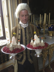 Regency Footman Serving Flummery