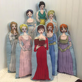 Sew-It-Yourself Craftea Kits - Heroines of Austen 8-Doll Set