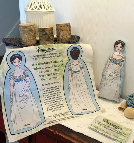 Sew-It-Yourself - Catherine Morland Doll