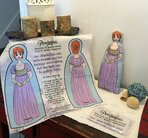 Sew-It-Yourself - Elinor Dashwood Doll