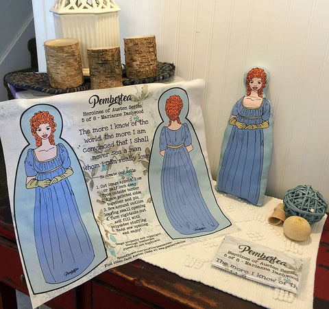 Sew-It-Yourself - Marianne Dashwood Doll